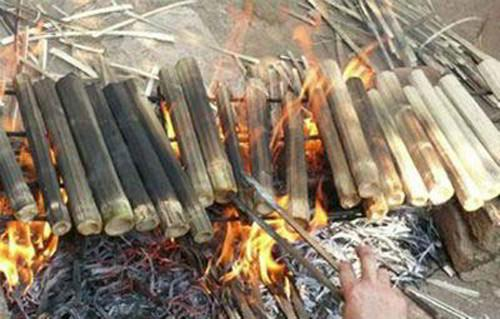 đặc sản cơm lam