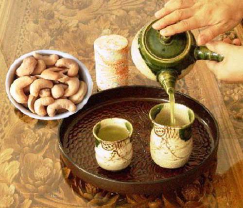 hạt điều rang muối đặc sản Bình Phước