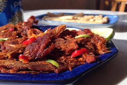 thịt nai khô đặc sản Đà Nẵng