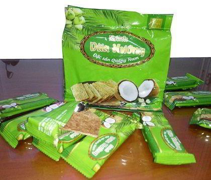 bánh dừa nướng đặc sản Quảng Nam