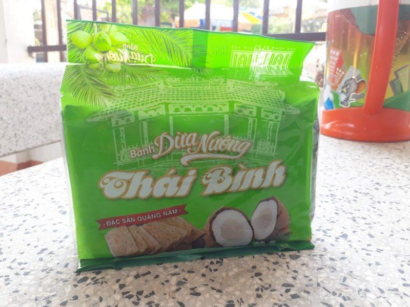 Bánh dừa nướng Thái Bình