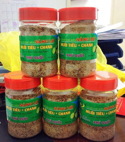 muối chanh tiêu Phú Quốc