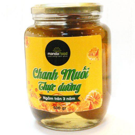 chanh muối thực dưỡng đặc sản Tiền Giang