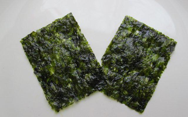 Rong biển sấy khô Lý Sơn