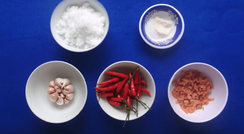 Cách làm muối tôm ngon