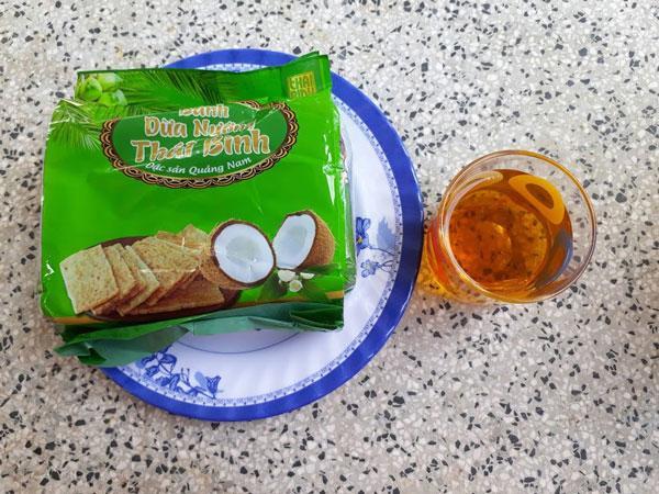 Đại lý bánh dừa nướng